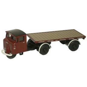 Oxford Diecast NMH009 LMS Flatbed Trailer