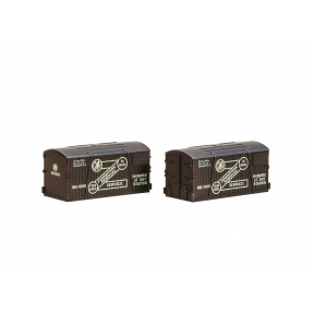 Peco NR-213 Containers GWR Furniture Removals pack of 2