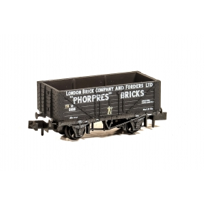Peco NR-P426 7 Plank Wagpn London Brick Company And Forders Limited