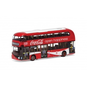 Corgi OM46623 New Routemaster London United LTZ 1148 Route 10 Kings Cross Coca Cola