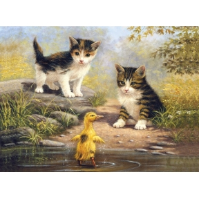 Pond Pals Painting By Numbers