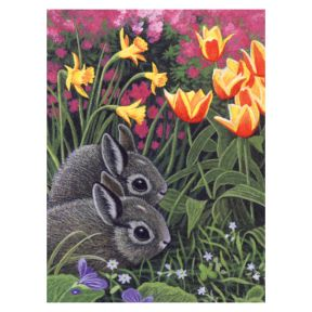 Spring Bunnies Painting By Numbers
