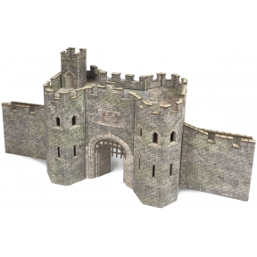 Metcalfe PO291 OO Gauge Castle Gatehouse Card Kit