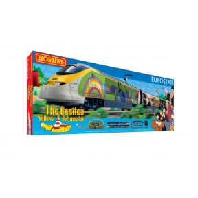 Hornby R1253 OO Gauge Eurostar Yellow Submarine Train Set