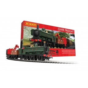 Hornby R1254 OO Gauge GWR Freight Train Set