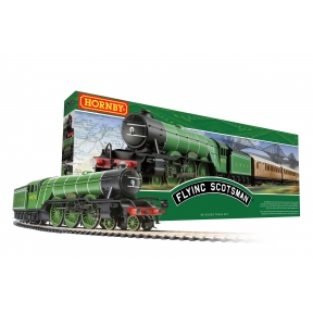 Hornby R1255 OO Gauge Flying Scotsman Train Set