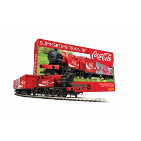 Hornby R1276 OO Gauge Summertime Coca-Cola Train Set