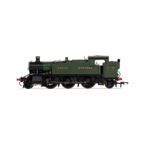 Hornby R3721X GW Class 61xx Large Prairie Tank 2-6-2T 6110 GW Green Great Western DCC Fitted