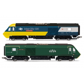 Hornby R3770 Class 43 HST Power Cars 43002 'Sir Kenneth Grange' and 43198 GWR