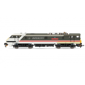 Hornby R3890 BR Class 91 91002 'Durham Cathedral' Intercity Swallow