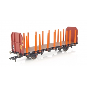 Hornby R6468 OO Gauge OTA Timber Wagon EWS