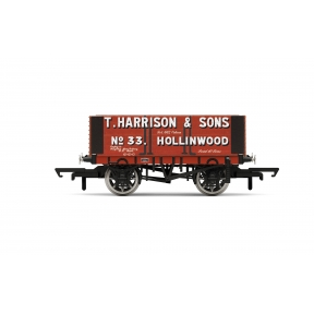 Hornby R6950 H. Harrison & Sons 6 Plank Wagon No. 33/3