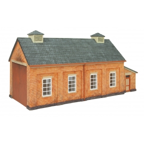 Hornby R7283 OO Gauge GWR Single Road Engine Shed