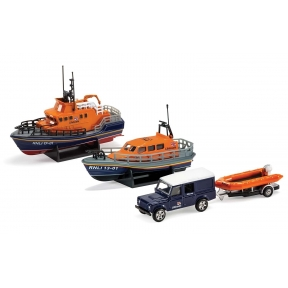 Corgi RNLI Gift Set - Shannon Lifeboat Severn Lifeboat and Flood R