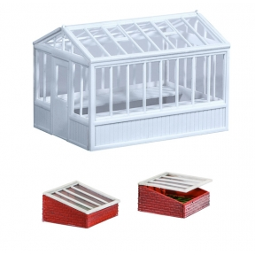 Wills SS20 OO Gauge Greenhouse & Cold Frames