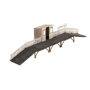 Wills SS27 OO Gauge Station Halt with Waiting Room