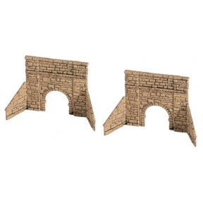 Wills SS38 OO Gauge Cattle Creep Stone Type Arches & Abutments