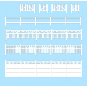 Wills SS43 OO Gauge Concrete Fencing