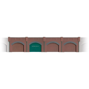 Wills SS52 OO Gauge Brick Retaining Arches