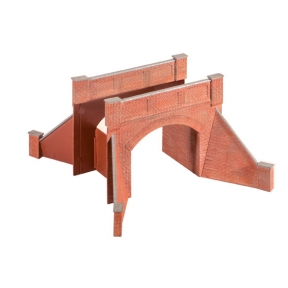 Wills SS53 OO Gauge Brick Arch Bridge Complete With Abutments