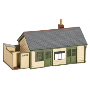 Wills SS67 OO Gauge Wayside Station Timber Slate Roof Brick Chimney