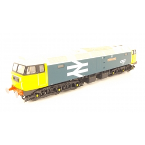 Vi Trains V2114 Class 47 47617 University Of Stirling BR Large Logo Blue DCC Sound Fitted