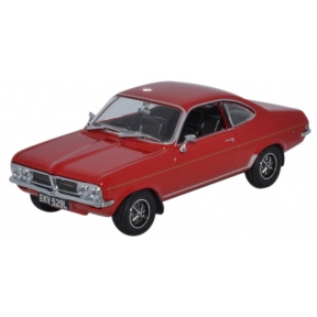 Oxford Diecast VF002 Vauxhall Firenza 1800SL Flamenco Red