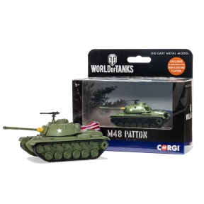 Corgi WT91201 World of Tanks M48 Patton Tank