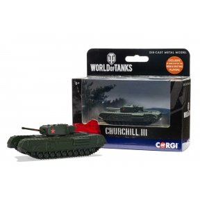 Corgi WT91204 World of Tanks Churchill MkIII