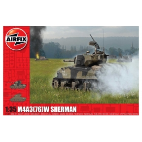 Airfix M4A3(76)W Sherman 'Battle of the Bulge'