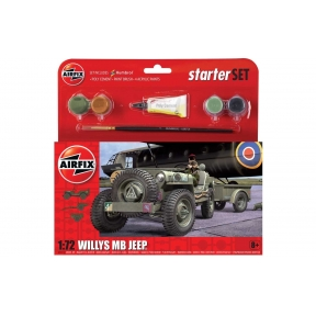 Airfix Starter Set - Jeep MB