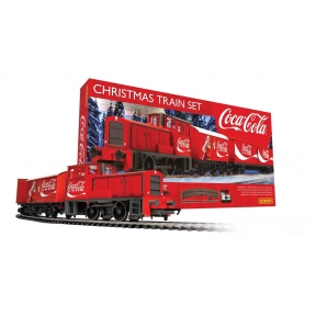 Hornby R1233 OO Gauge Coca Cola Christmas Train Set