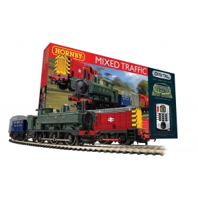 Hornby R1236 OO Gauge Mixed Freight DCC Train Set