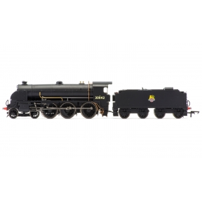 Hornby R3412 OO Gauge SR S15 4-6-0 30842 BR Black Early Crest
