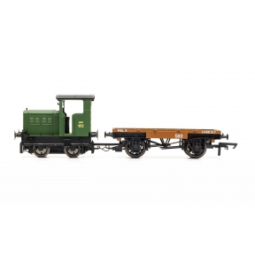 Hornby R3706 R&H 48DS 0-4-0 'Army 802'/5 War Department