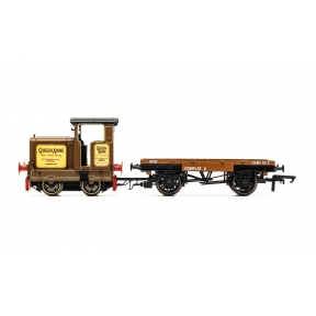 Hornby R3707 R&H 48DS 0-4-0 'Queen Anne' Longmorn Distillery