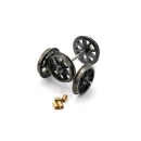 Dapol 7A-000-012 O Gauge Spoked Wheels & Bearings